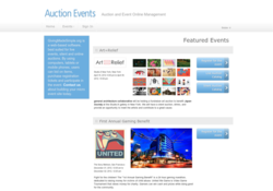 View Auction Events Project